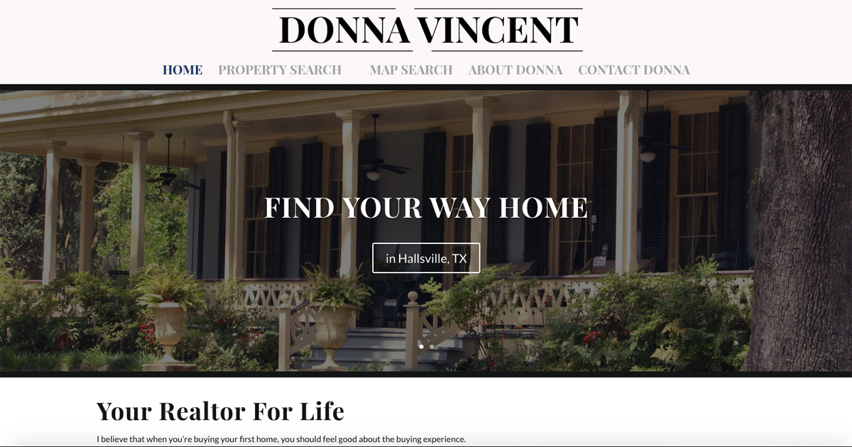 Donna Vincent, Realtor in Longview, TX