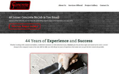 Clarence Joiner Concrete – Gladewater
