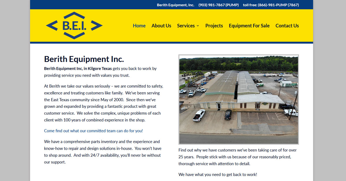 Berith Equipment Inc. - Kilgore, TX
