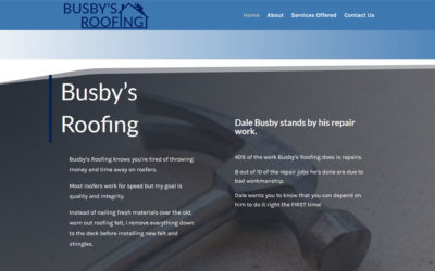 Busby's Roofing – Winona, TX